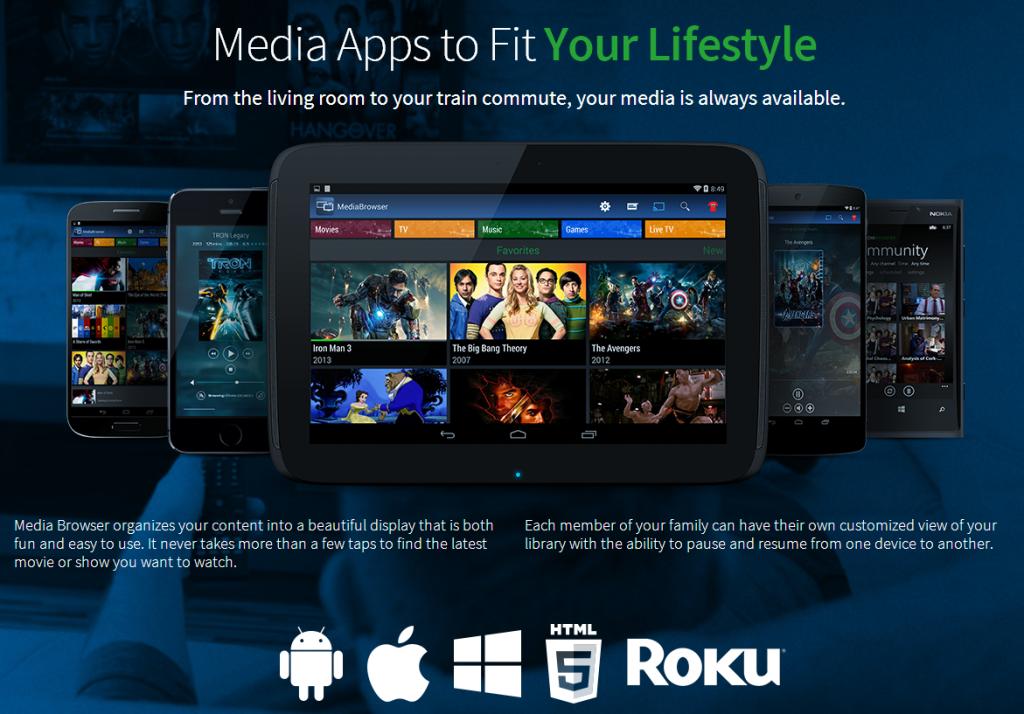 Media Browser App Sale
