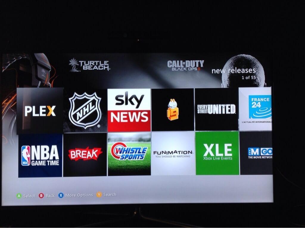 Xbox 360 Plex